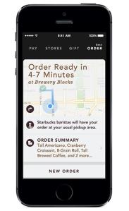 Starbucks Mobile Order & Pay app http://www.starbucks.com/coffeehouse/mobile-order