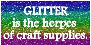 Glitter-Phobia