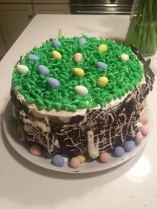 Easter Egg cake fail