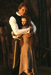 han and leia hugging