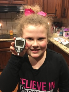 Avery's blood sugars