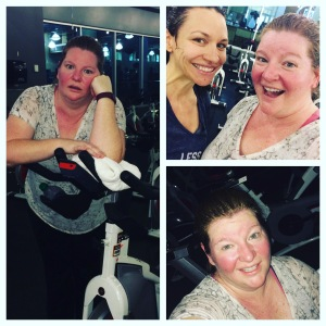 24 Hour Fitness spin class